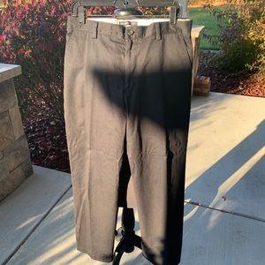 Mens dockers dress pants black  like  33x32.
